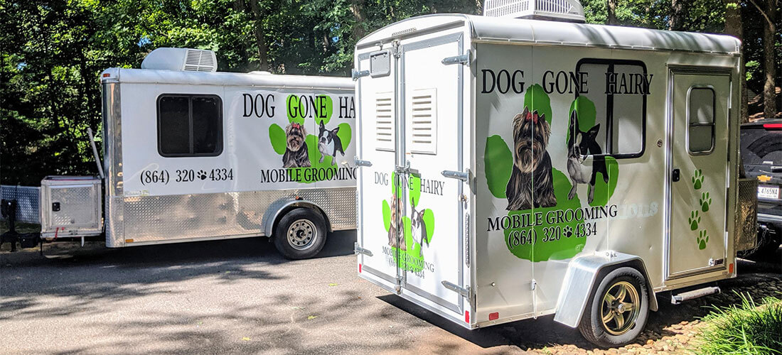 Dog Gone Hairy - Mobile Dog Grooming Units